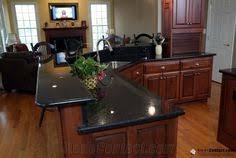 Black Granite Bench Tops Timber Country Kitchen With Black Granite Bench Top Kitchen