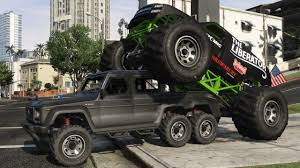 monster truck dubsta 6by6 gta gtaforums