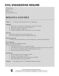 Domestic Engineer Resume Sample by Good Engineering Student Resume Youtuf Com