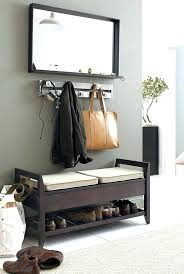 shoe storage bench with doors old doors hall tree coat rack bench