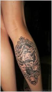 63 exclusive skull tattoos on leg