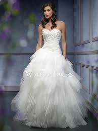 clearance wedding dresses gown a line sweetheart strapless sleeveless tulle taffeta