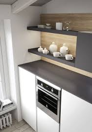 cabinet kitchen door in white oak melamine and cappuccino brown