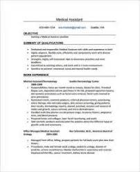Resume Medical Assistant Examples by Administrative Assistant Job Description For Resume 2015