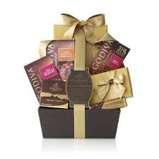 chagne gift baskets godiva chocolate celebration signature gift basket