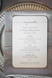 Wedding Invitations With Menu Cards Los Angeles Country Club Wedding By Amy And Stuart Photography