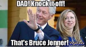 Bill Clinton Meme - funny bill clinton bruce jenner meme pmslweb