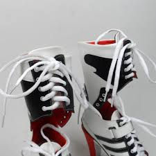 womens harley boots sale squad harley quinn boots costumes