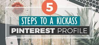 Hit The Floor Kickass - 5 steps to a kickass pinterest profile slaying social