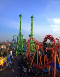 Goliath Six Flags Magic Mountain Do You Prefer Goliath U0027s New Train Or Old Train