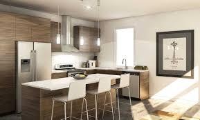 kitchen design laminate wooden flooring dark purple and white