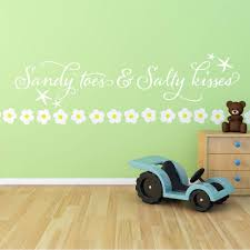 beach quotes wall stickers ocean starfish vinyl lettering baby beach quotes wall stickers ocean starfish vinyl lettering baby nursery wall decals for kid s room children wallpaper 613q in wall stickers from home