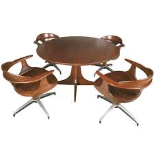 kitchen table with swivel chairs chair design ideas modern swivel dining room chairs brilliant