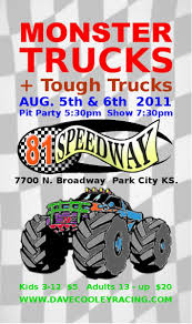 monster truck show wichita ks monster trucks wichita kansas august 5th and 6th 81 speedway