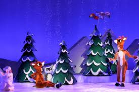 rudolph red nosed reindeer stage musical bows ny today