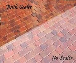 clean and seal brick paver showroom of tampa bay