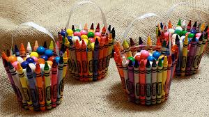 party favors crayon favor party for kids pbs parents pbs