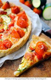 giallo zafferano cucina vegetariana crostata alle verdure con pasta bris礙 veloce arte in cucina