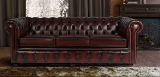 Leather Chesterfields Sofas Living Room And Furniture Designing With Chesterfield Sofa And