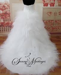 robe de mari e pas cher princesse robe de mariee bustier pointe jupe mouchoirs de tulles robe de