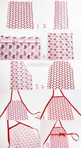 doll craft how to make a no sew kitchen apron americangirlfan