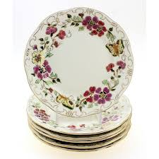 butterfly serving platter zsolnay butterfly decor sandwich set 7pc serving platter with 6