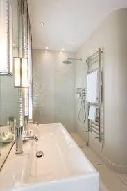 Corian Shower Enclosure Delta Shower Valve In Bathroom Eclectic With Corian Shower Walls