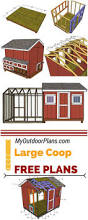 backyards appealing learn how to build a large chicken coop so