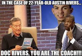 Clippers Memes - nba memes austin rivers joins doc rivers with clippers facebook