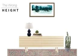 proper height to hang pictures on wall how to properly hang art on your wall height distance diy playbook