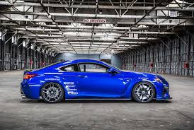lexus rc f stance here u0027s your rocket bunny lexus rc and a more visceral rc f