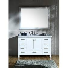 andover mills marine 55 single rectangle bathroom vanity with