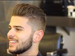 shaved back and sides haircut mens hairstyles shaved sides and back youtube