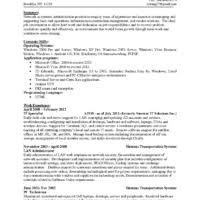 Network Admin Resume Free Download Network Administrator Resume Format Sample For Job