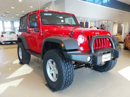 red customized jeep wranglers american expedition vehicles ilderton high point nc