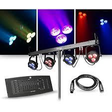 guitar center dj lights chauvet dj lighting package with 4bar lt usb rgb led fixture and dmx