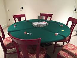 60 inch round elastic table covers amazon com green felt poker table cover fitted poker tablecloth