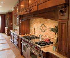 Cherry Cabinets In A Traditional Kitchen Kemper - Kitchen with cherry cabinets