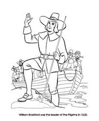 Pilgrim Thanksgiving History Pilgram Coloring Page Pilgrim Thanksgiving Coloring Page