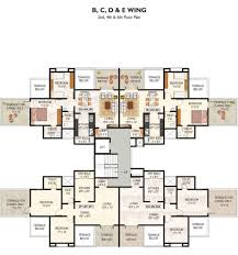 Icon Floor Plan by Overview Rose Icon Pimple Saudagar Gk Developer Pimple