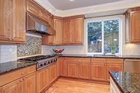 kitchen ideas for light wood cabinets luxury kitchen with kitchen island light wood cabinets fitted
