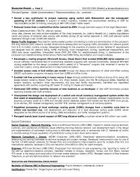 telecom manager cover letter