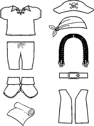 pirate body template pictures to pin on pinterest clanek