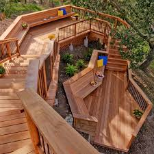 Wooden Decks And Patios 108 Best Wood Decks U0026 Patios Images On Pinterest Backyard Ideas