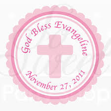 holy communion favors 24 girl s baptism communion favor sticker labels so sweet