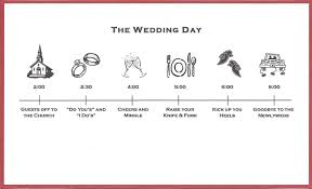 exclusive wedding invitation timeline theruntime