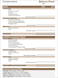 financial statement template 20 free pdf excel word documents