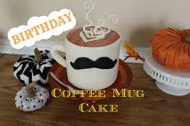 Fancy Coffee Mugs Coffee Mug Birthday Cake Youtube