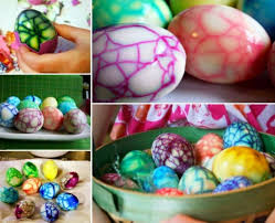 Decorating Easter Eggs With Nail Polish wonderful diy easter marble egg using nail polish