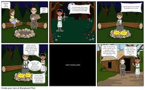 jacob and esau 1 storyboard by kriest